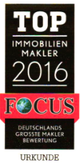 Top Immobilien Makler laut Focus-Magazin